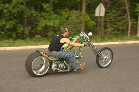 Hubless-Harley-Davidson