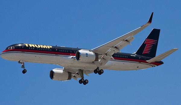 Трамп самолет