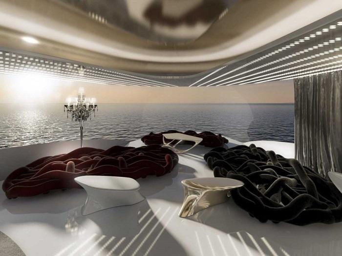 спальня на яхте