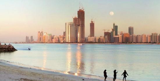 столица Абу-Даби