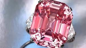 самый дорогой розовый бриллиант