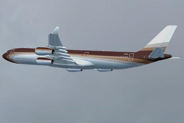 самолет Усманова