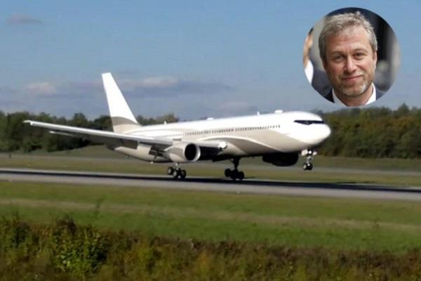 Самолет Абрамовича