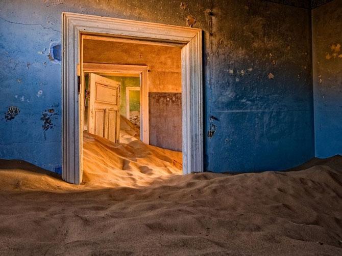 песок Намибии
